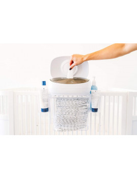 Prince Lionheart Evo Wipes Warmer with Hanging Diaper Depot