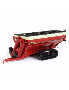 1/64 Killbros Red 1111 Grain Cart on Tracks Cust-1721