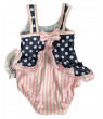 Flap Happy Girls' Baby UPF 50+ Infant Ruffle Suit Size 12 Months