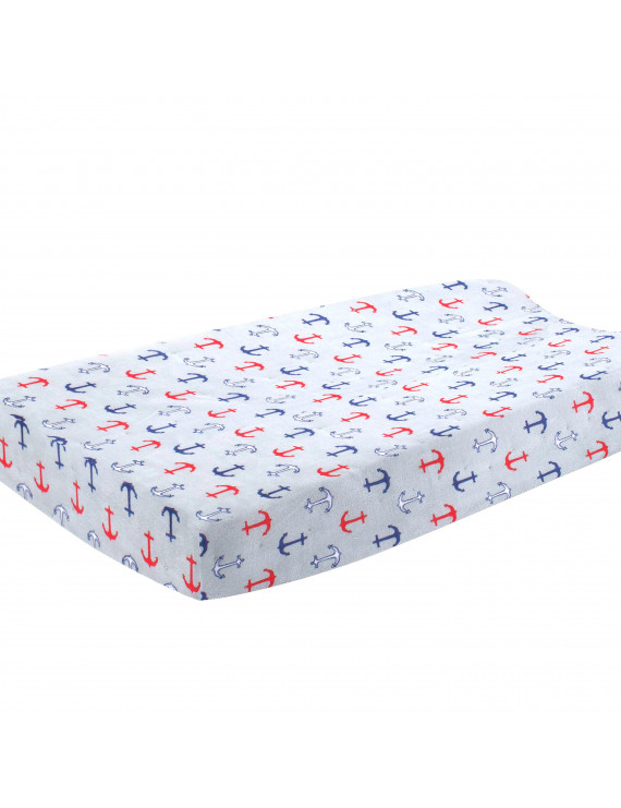 Pam Grace Creations Anchors Away Nautical Changing Pad Cover