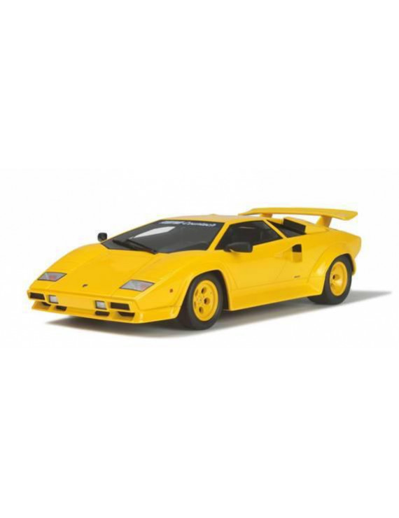Lamborghini Koenig Countach Twin Turbo Yellow Limited Edition 1/18 Model Car by GT Spirit for Kyosho