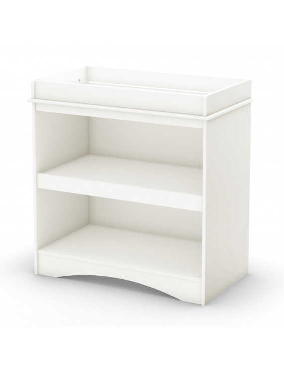 South Shore Peek-a-Boo Changing Table, White