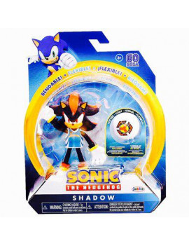 Sonic The Hedgehog - Shadow with Soccer Ball - 4 Inch Action Figure