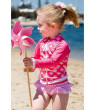 Sun Emporium Baby Girls Coral Indian Damask Zip Jacket Nappy Cover Set