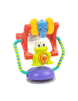 Baby Activity Toy Animal Ferris Wheel Rattle Toy Intelligence Development for Baby Dining Chair Cart Suction Cup Toy