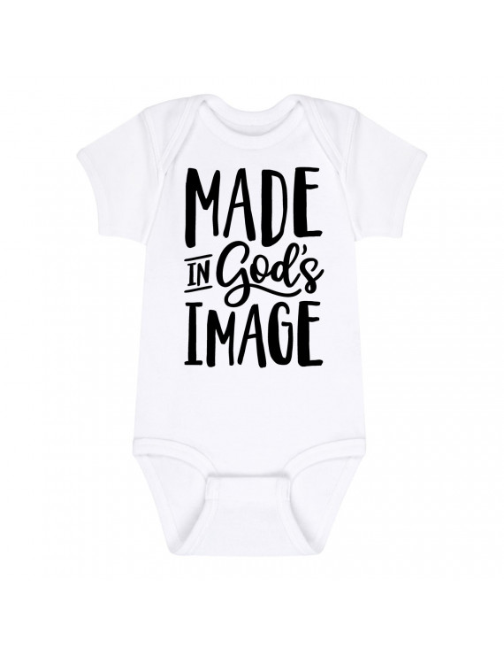 Made In Gods Image  - Baby One Piece