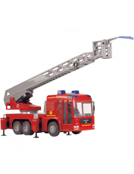Dickie Toys Light and Sound SOS Fire Engine Vehicle with Working Pump