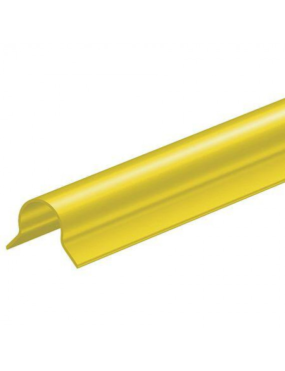 Corner Guard,Yellow,2.5x48Bullnose,Adhes ZORO SELECT 6YDD8