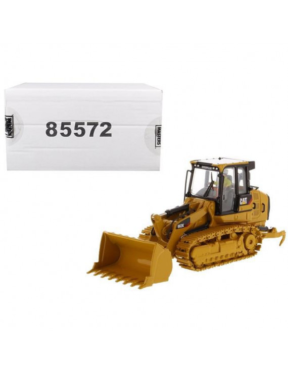 Diecast Masters 85572 CAT Caterpillar 963K Track Loader with Operator High Line Series 1-50 Diecast Model