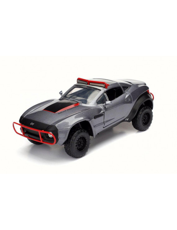 Letty's Rally Fighter, Gray w/Red - Jada 98433 - 1/24 Scale Diecast Model Toy Car (Brand New but NO BOX)