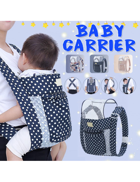 3 in 1 Newborn Front Rear Facing Baby Carrier Adjustable Infant Wrap Sling Backpack Pouch Seat Safety Baby Kangaroo Carrier Best Gift for Mum and Dad