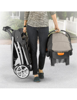 Chicco Viaro Travel System Stroller, Black