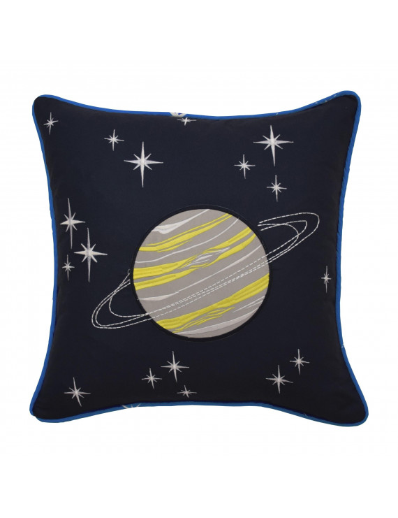 Waverly Kids Space Adventure Embroidered Decorative Accessory Pillow