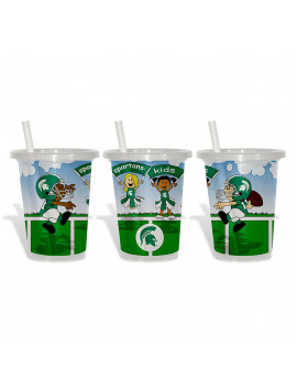 Baby Fanatic NCAA Sip and Go 10 Ounce - Michigan State Spartans
