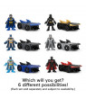 Imaginext DC Super Friends Slammers Batmobile & Mystery Figure Set (Styles May Vary)