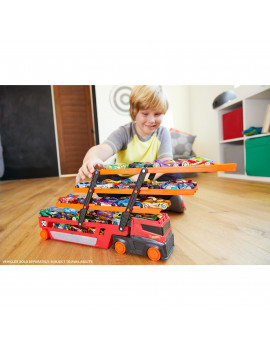Hot Wheels Mega Hauler Vehicle with 6 Expandable Levels