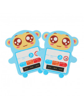 Akoyovwerve Water Temperature Card Baby Bath Temperature Card Water Temperature Card Test Water Temperature Temperature Pastable Card