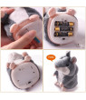 Topboutique Plush Interactive Toys PRO Talking Hamster Repeats What You Say Electronic Pet Chatimals Mouse Buddy for Boy and Girl, 5.7 x 3 inches?gray?