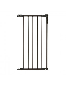 North States 15-Inch Bronze Extension Piece for Deluxe Decor Gate (2 Pack)