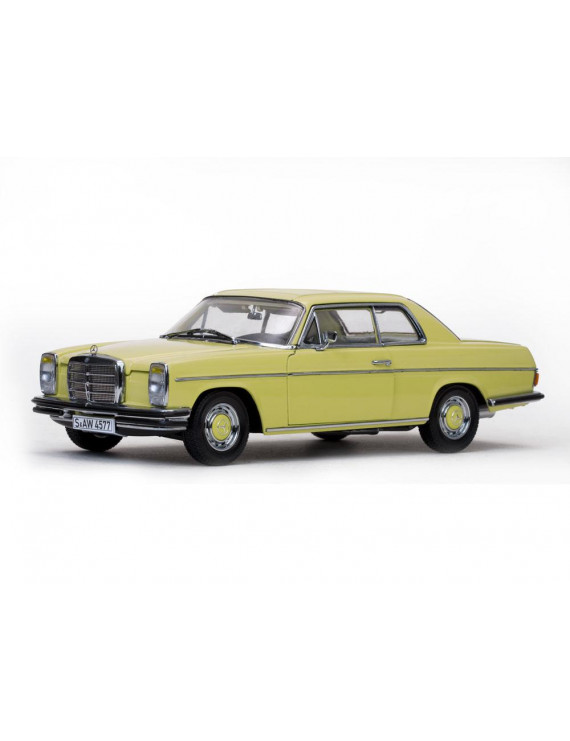 Mercedes Strich 8 Coupe Yellow/Ahorngelp Platinum Edition 1/18 Diecast Model Car by Sunstar