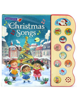 Christmas Songs: Deluxe Sound Book Wood Module (Board Book)