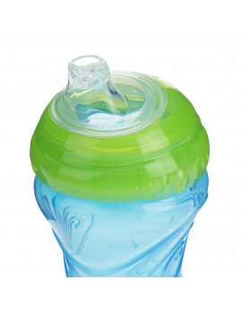 Nuby 10 Oz. Clik-It Cup with Silicone Spout, 2 count