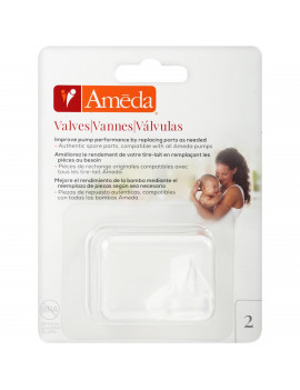 Ameda Breast Pump Valves, 2-Count