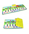 Baby Piano Mat Musical Touch Carpet 100x36CM Music Piano Keyboard Mat Infant Baby Educational Toy