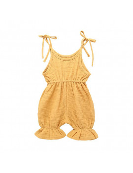 0-3Y Girls Jumpsuits For Baby Rompers Infant Casual Outfits Clothes