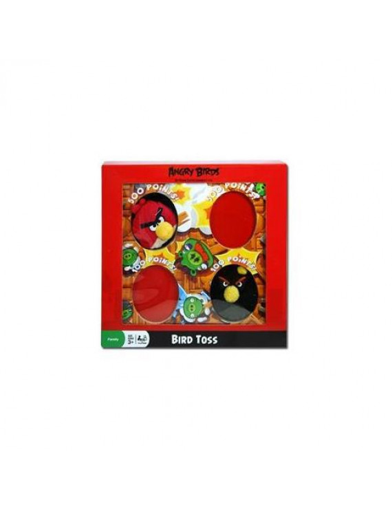 DDI 1454266 Angry Birds 10. 5 inch x10. 5 inch x2 inch Toss Game Case Of 6