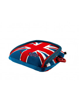 BubbleBum Backless Booster Car Seat - Union Jack