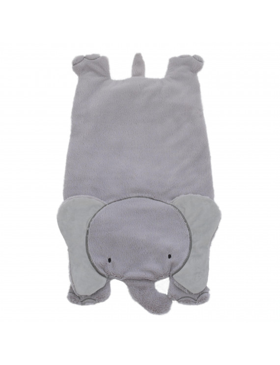 Little Love by NoJo Plush Tummy Time Play Mat - Grey elephant