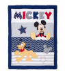 Disney Let's Go Mickey II 4 Piece Crib Bedding Set