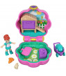 Polly Pocket Tiny Pocket Places 2-Pack: Picnic & Hoppin' Hangout Compacts