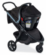 Britax B-Free & Endeavours Travel System, Frost
