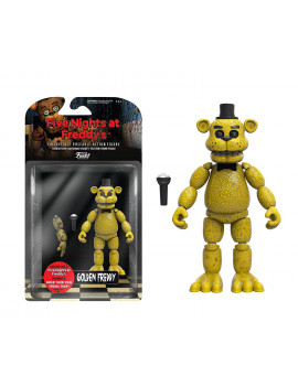 "High-quality Five Nights at Freddy's Articulated Golden Freddy Action Figure, 5"" Action Figure, From US"