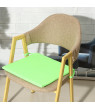 38x38x2cm Multi-colors Soft Comfort Sit Mat Chair Seat Pads Cushion Pads Dining Garden Park With Tie