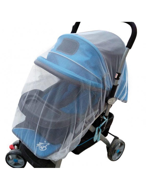Iuhan Summer Safe Baby Carriage Insect Full Cover Mosquito Net Baby Stroller Bed Netti