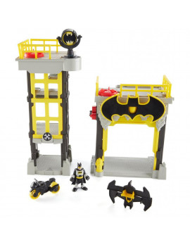 Imaginext DC Super Friends Streets of Gotham City Tower Playset & Batman Figure