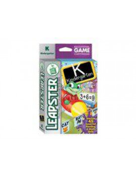 Kindergarten - Leapster Multimedia Learning System - game cartridge