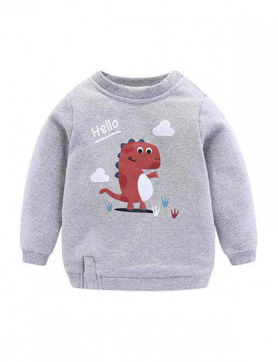 KidPika Baby Kids Child Winter Warm Clothes Terry Fleece Sweatshirt Tops Hoodie Pullover