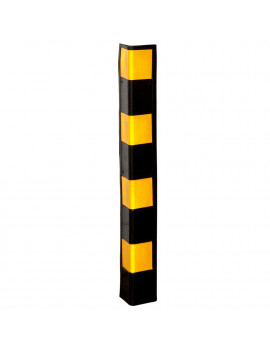 "34"" Rubber Wall Corner Guard for Parking Garages & Warehouses"