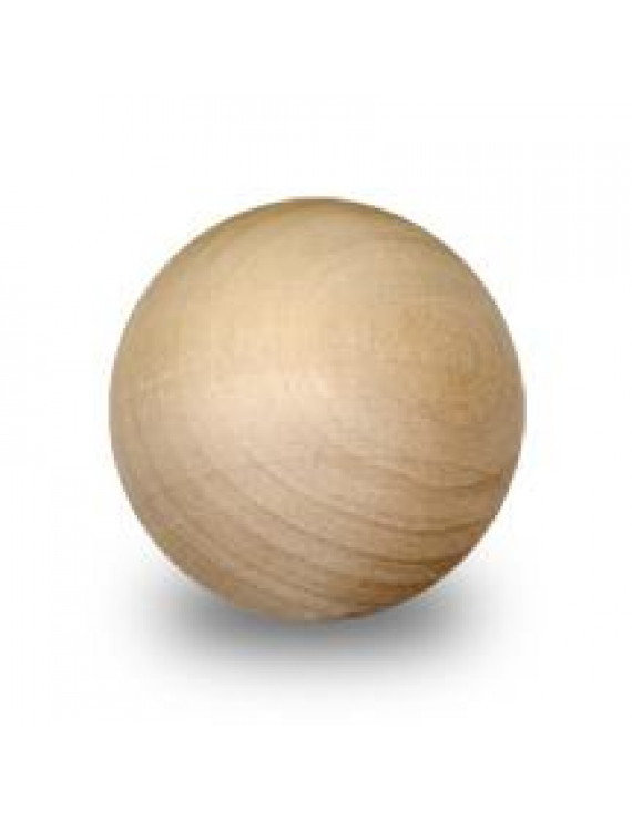 "1 Pc 2"" Round Wood Ball"