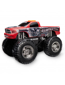 Adventure Wheels Wheel Standers Motorized Vehicle, Raminator, Red