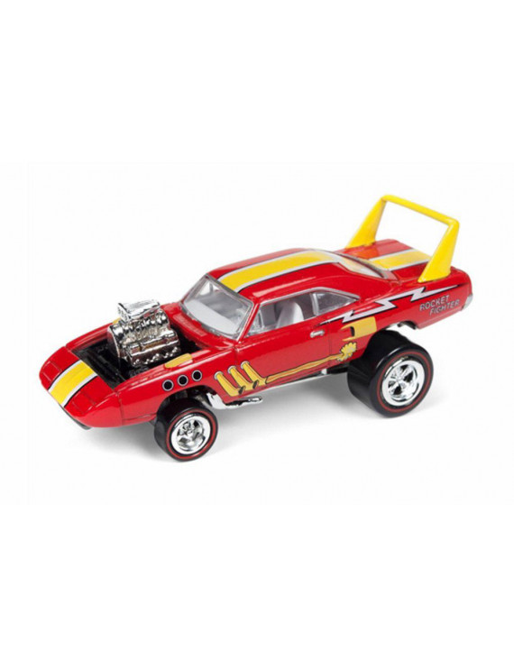 1970 Plymouth Superbird, Bright Gloss Red - Round 2 JLSF009/48A - 1/64 scale Diecast Model Toy Car