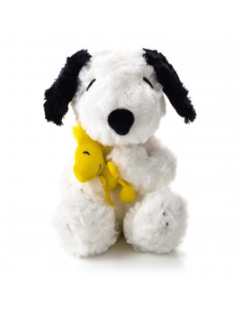 PAJ1122 Happiness Is A Hug Snoopy and Woodstock Plush