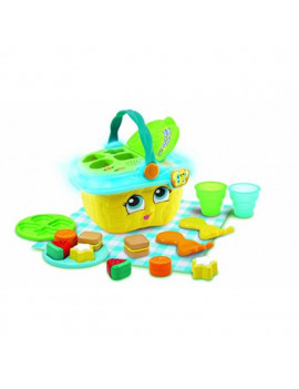 leapfrog 603653 shapes & sharing picnic basket yellow shapes and sharing learning toy, one size
