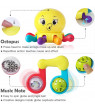 10pcs Baby Rattles Teether, Shaker, Grab and Spin Rattle, Musical Toy Set, Early Educational Toys for 3, 6, 9, 12 Month Baby Infant, Newborn