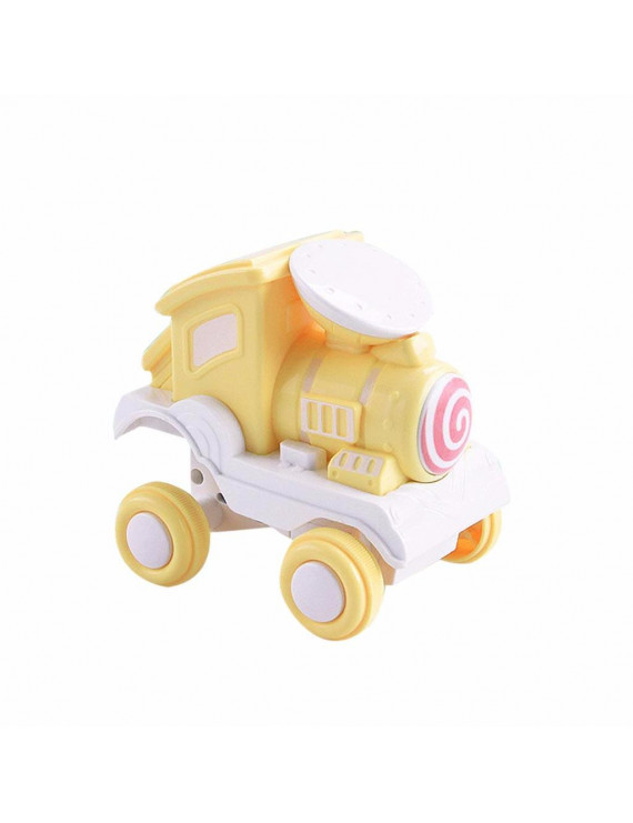 Toy Car Pressing Forward Pull Back Toy Car Baby Leisure Funny Cartoon Toy Car