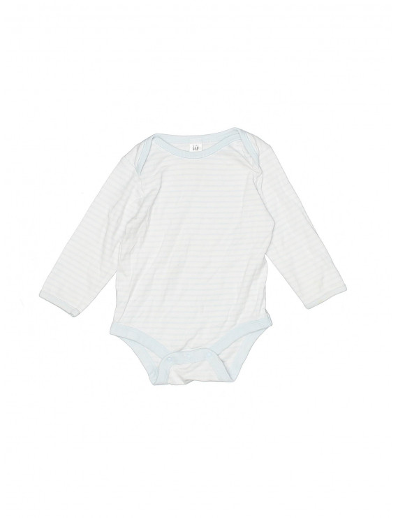 Pre-Owned Baby Gap Boy's Size 6-12 Mo Long Sleeve Onesie